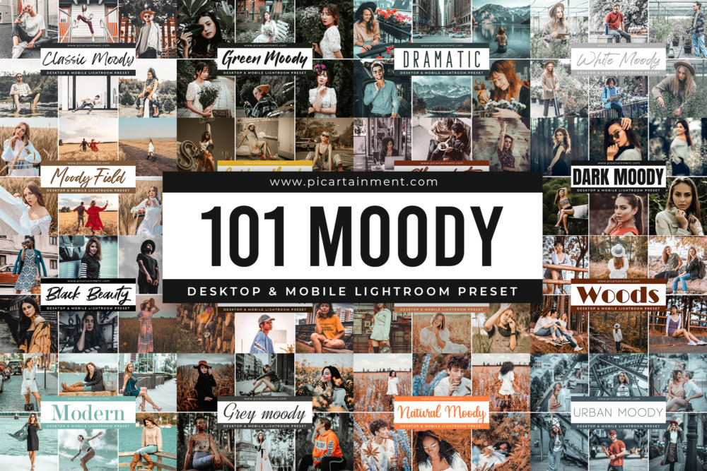 101 Moody Lightroom Presets