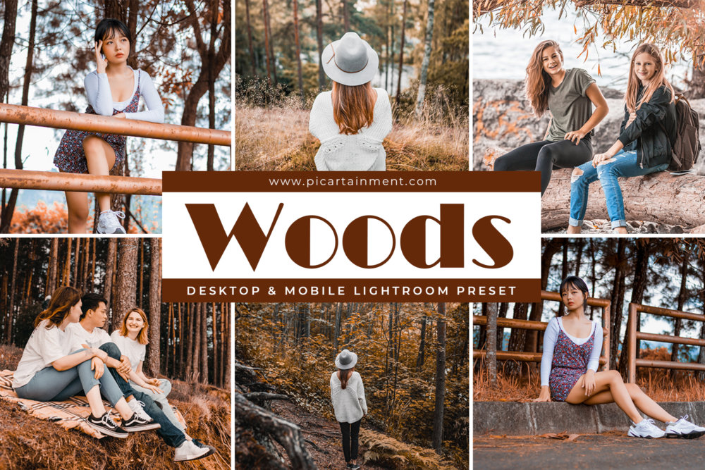 Woods Lightroom Preset