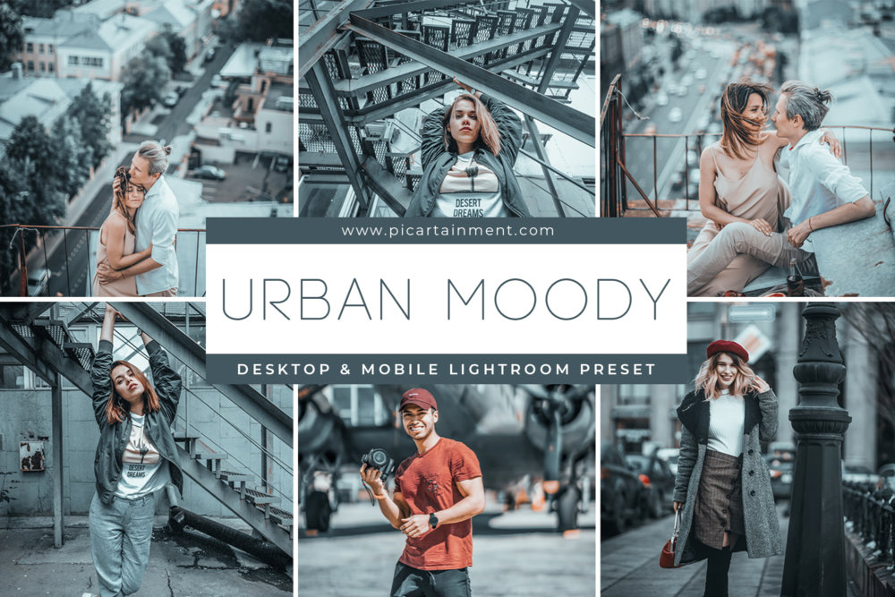 Urban Moody Lightroom Presets