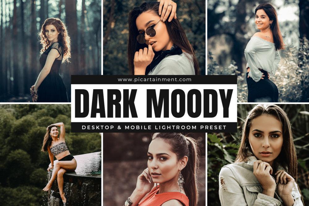 Dark Moody Lightroom Presets