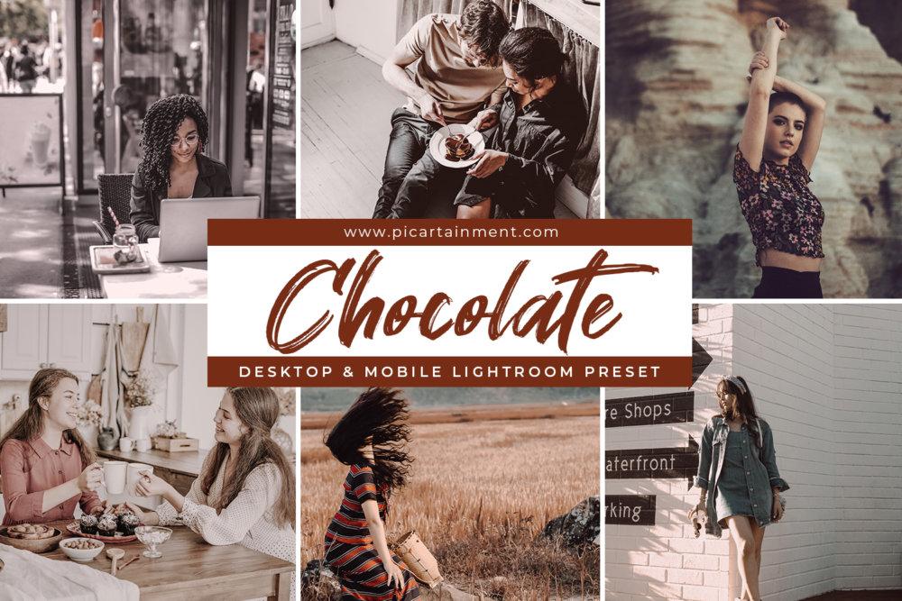 Chocolate Lightroom Presets