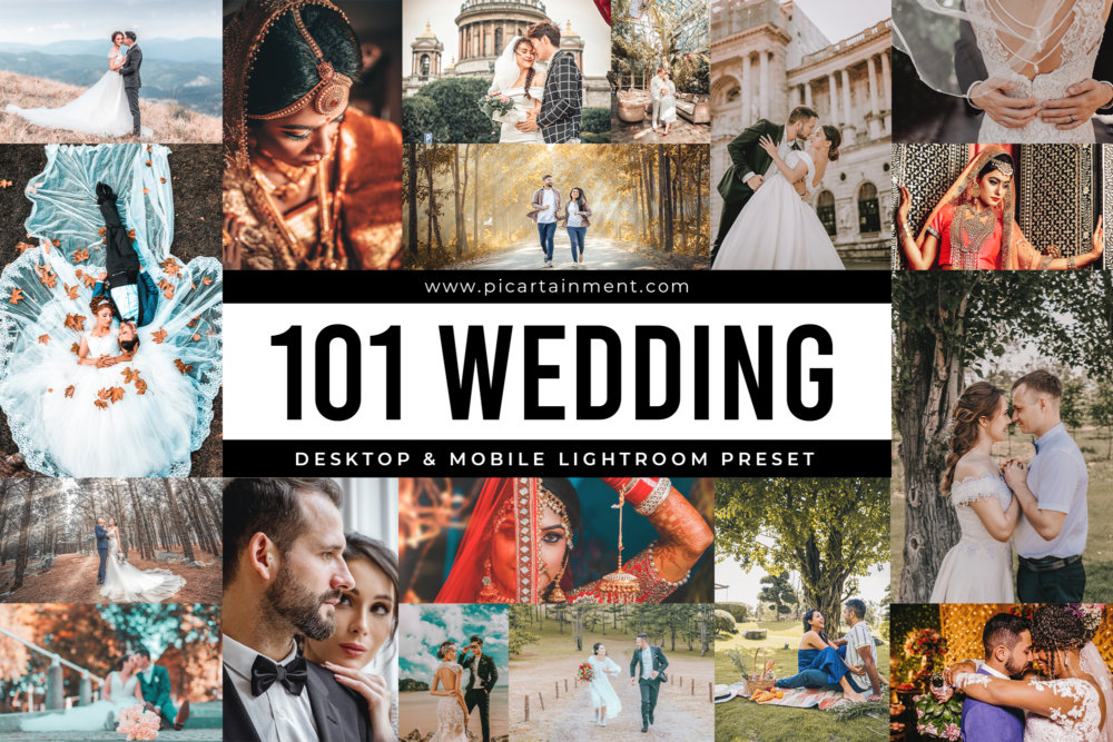 101 Wedding Lightroom Presets
